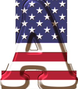 Alfabeto Badeira Dos Estados Unidos Png Capitao America Png Decoracao Capitao America Minnie Png