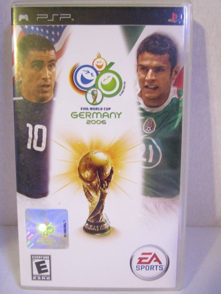2006 Fifa World Cup Sony Psp 2006 Ea Sports Complete Rated E Free Shipping Easports World Cup Fifa Fifa World Cup