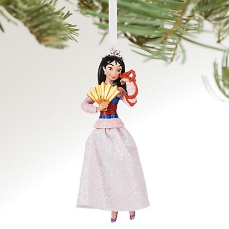 Mulan Sketchbook Ornament - Personalizable | Disney Store
