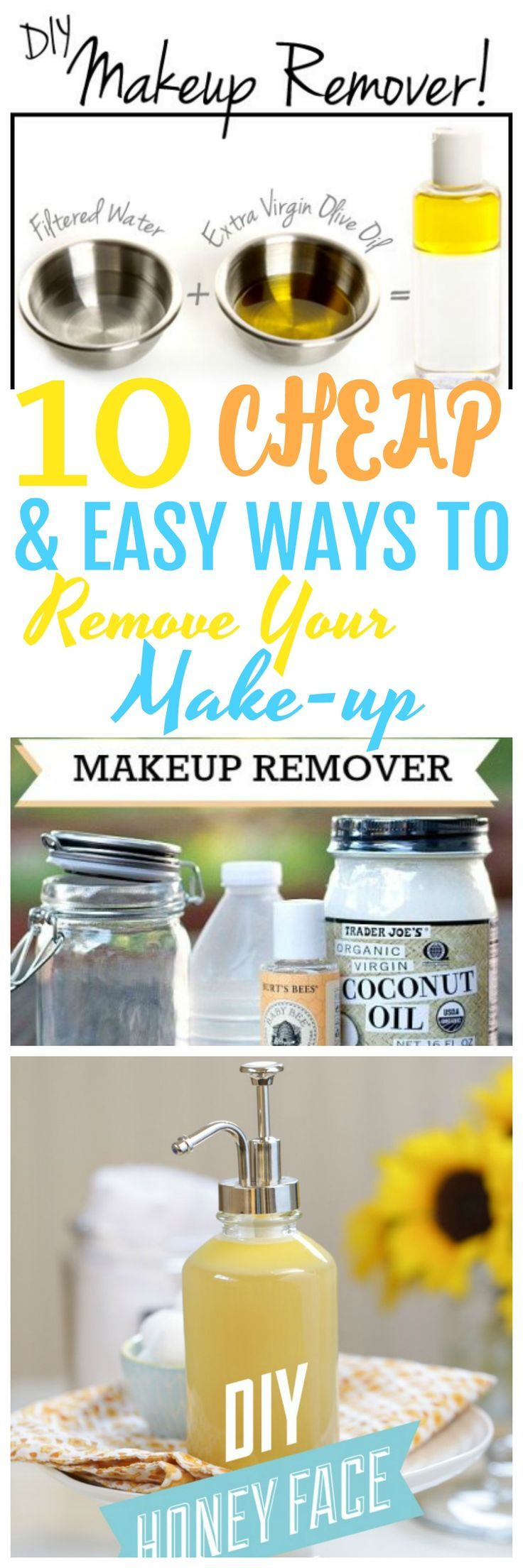 how to remove waterproof mascara with coconut oil