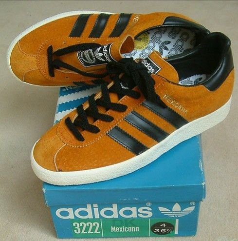 Who doesn't love the Mexicana? | Vintage adidas, Sneakers