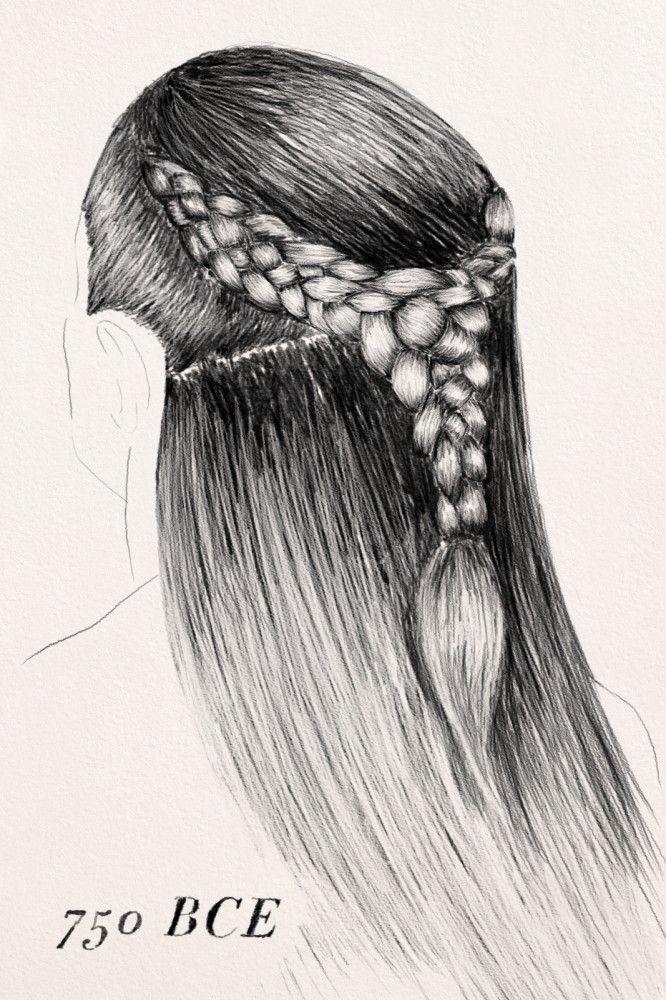 Hair Braids Beauty The History Of Hair Braiding Hair The Ancient Celts 750 Bc Celtic Hair Irish Hairstyles Historical Hairstyles