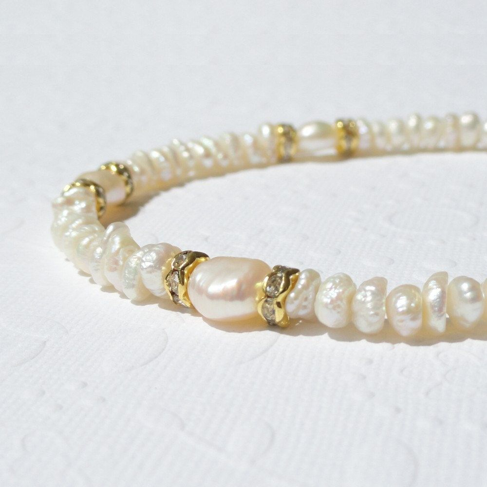 white pearl round pearls beads en twisted for czech cream glass imitation