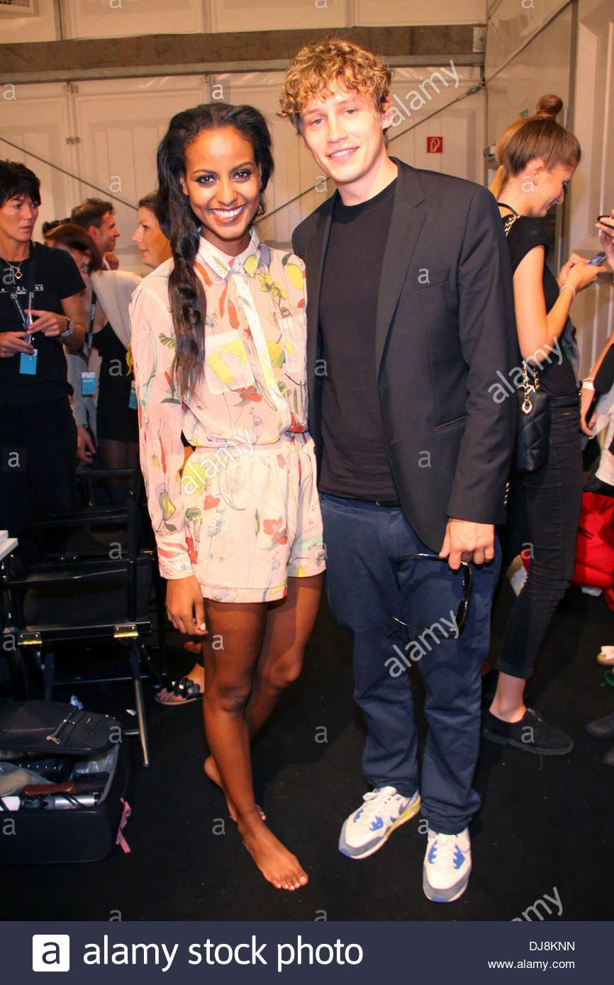 German Fashion Model Sara Nuru And Singer Songwriter Tim Bendzko