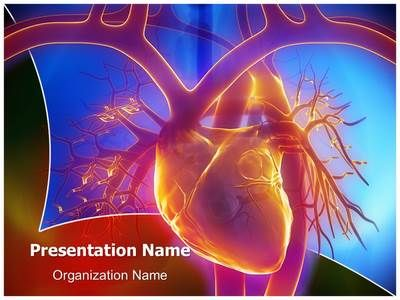 pulmonary trunk vein powerpoint template is one of the best, Presentation templates