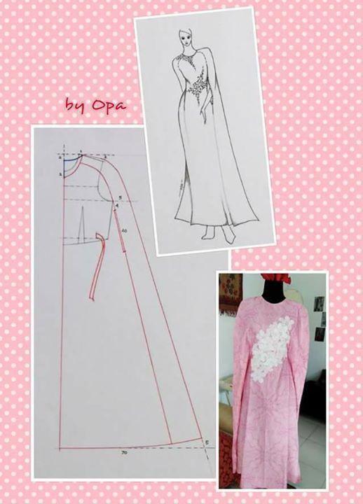 Pin by Liryza on Pecah Pola | Abaya pattern, Kaftan pattern, Sewing