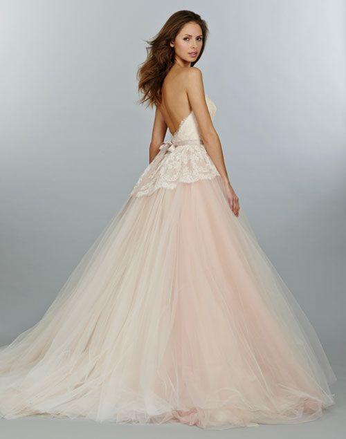 Low Back Ball Gown