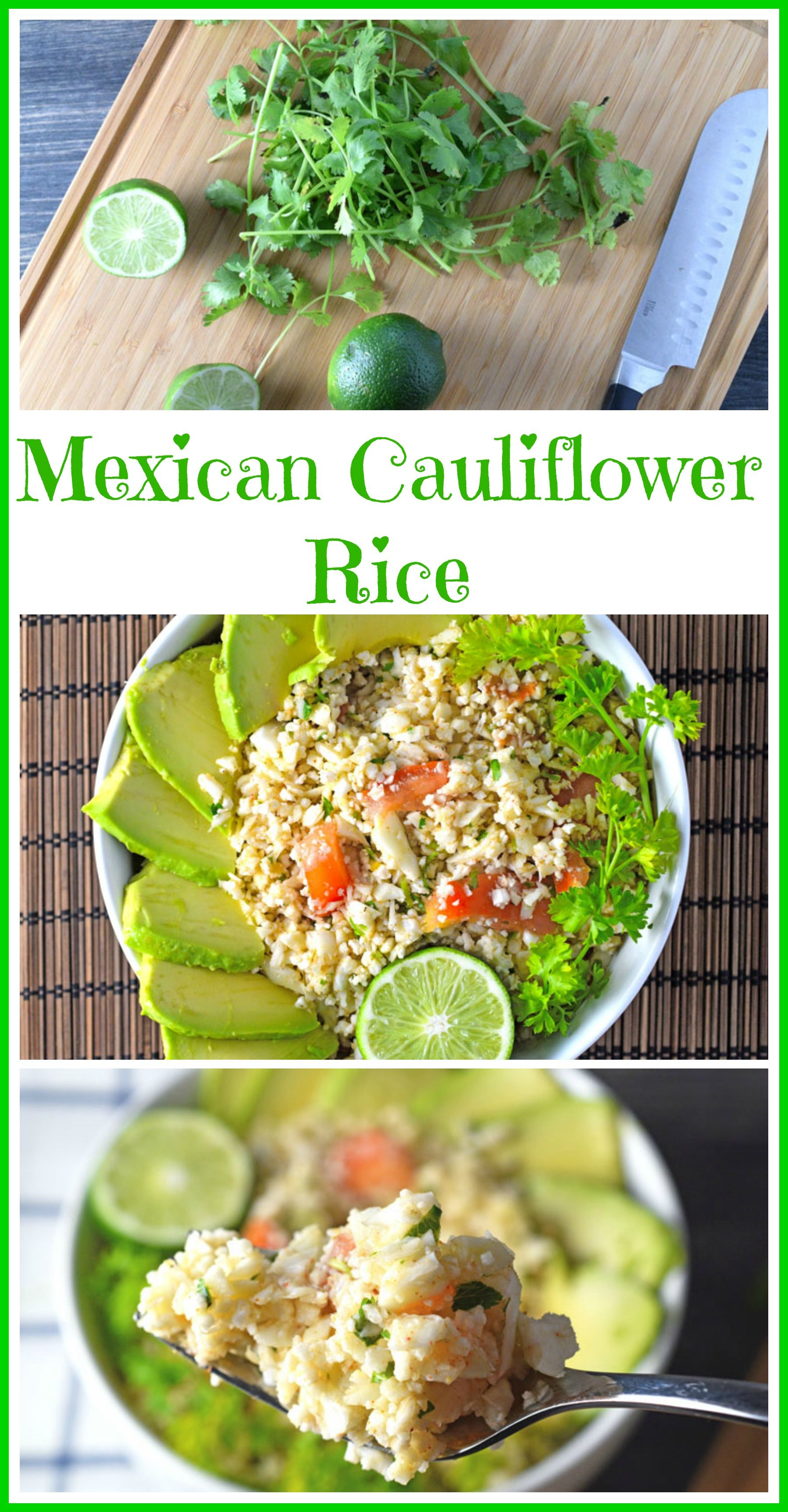 Easy quick cauliflower rice made with a mexican flare raw vegan easy quick cauliflower rice made with a mexican flare raw vegan and gluten free forumfinder Image collections