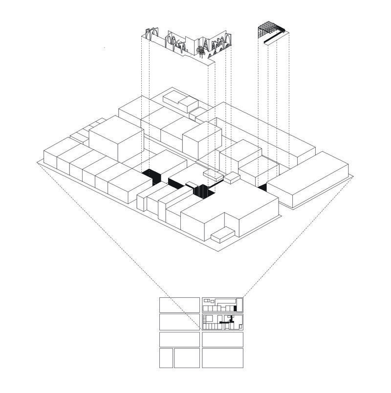 Axon Diagram Black800 Architecture Drawing Pinterest Diagram