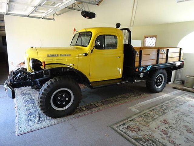 mellow yellow \u2013 1955 dodge power wagon lockinghub com 4x4 4sale