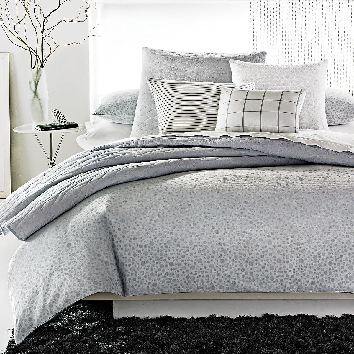 calvin klein home studio collection mykonos bedding. Black Bedroom Furniture Sets. Home Design Ideas