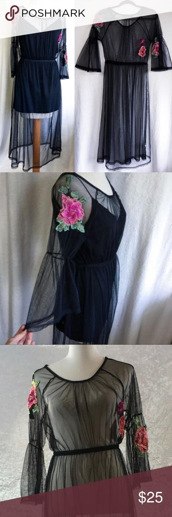 Potter S Pot Black Sheer Overlay Dress Sheer Overlay Dress Overlay Dress Black Sheer Dress [ 1740 x 580 Pixel ]