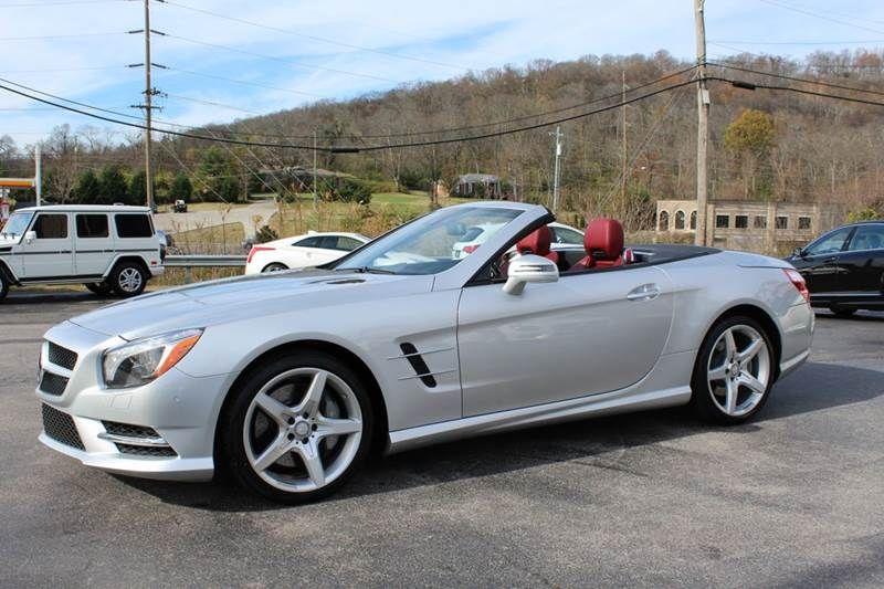 2013 MercedesBenz SlClass SL550 2dr Convertible In