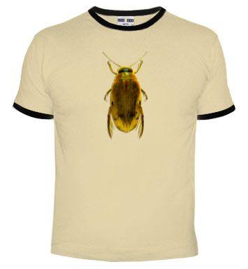 Camiseta escarabajo.