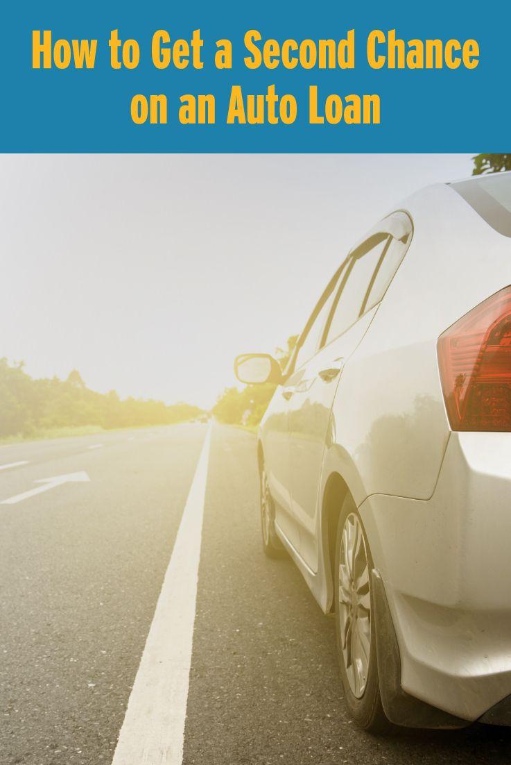 How To Get A Second Chance On An Auto Loan Roadloans Car Loans Loan Car Finance