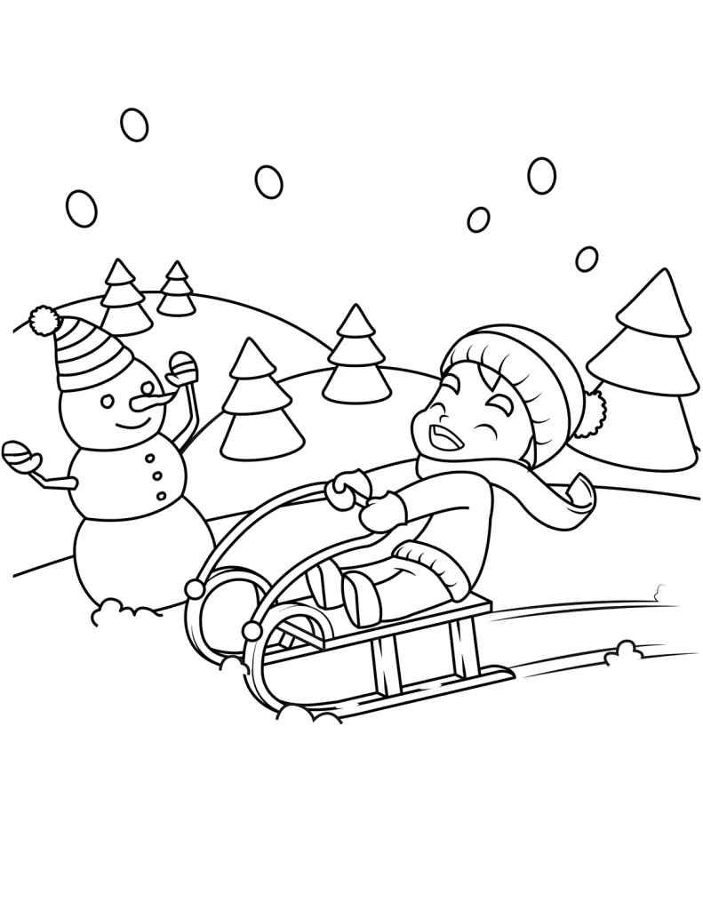 Free Printable Winter Coloring Pages For Kids Coloring Pages Winter Coloring Pages For Boys Printable Coloring Pages