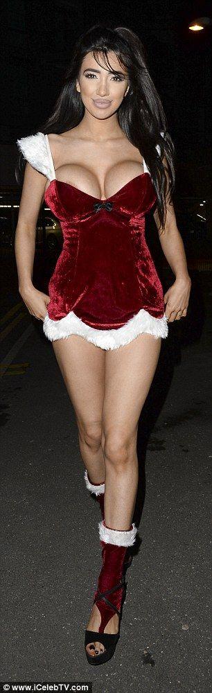 Mrs santa busty