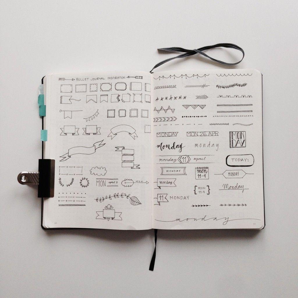 Classroom Design Journal Articles ~ Bullet journal inspiration