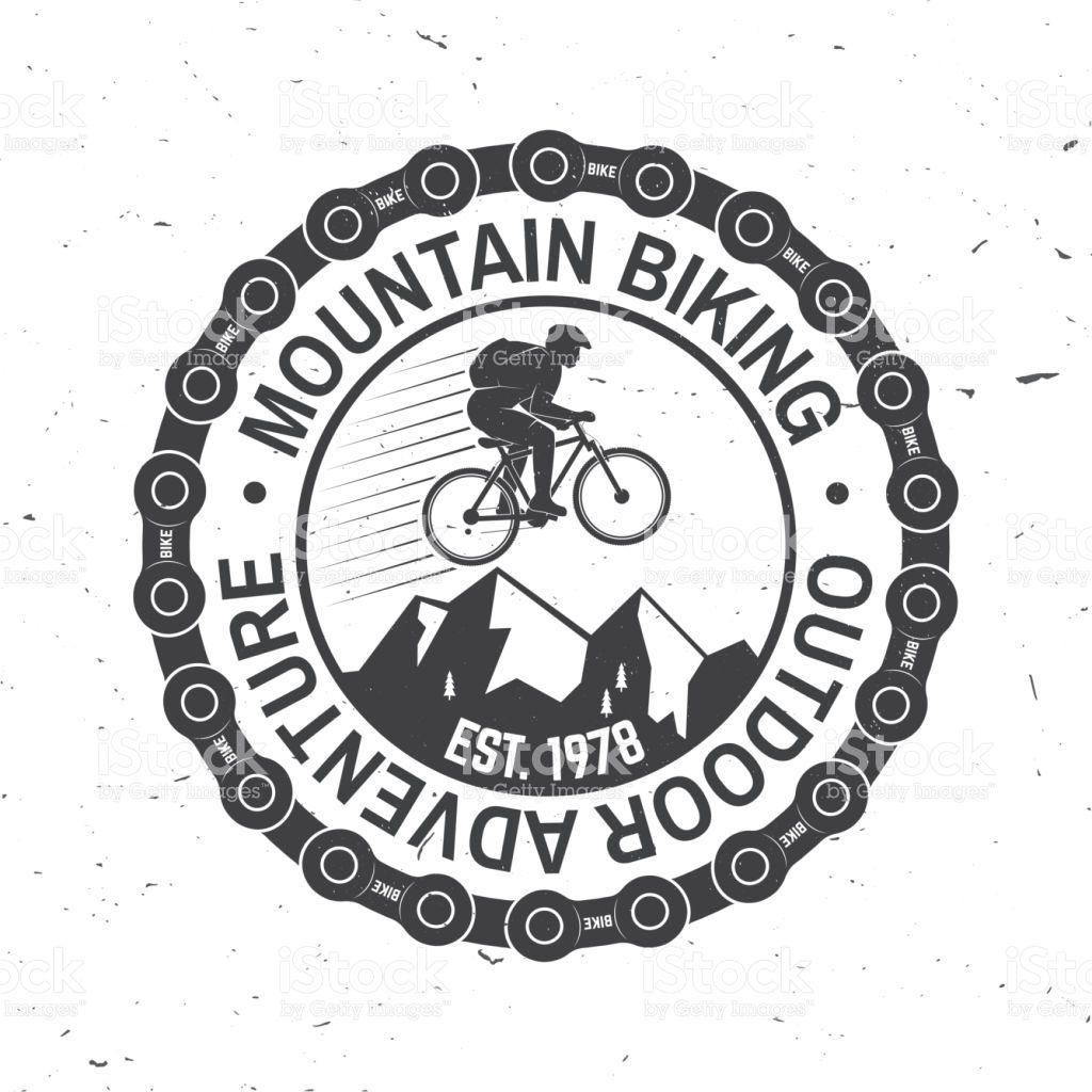 Mountain Biking Vector Illustration Concept For Shirt Or Logo