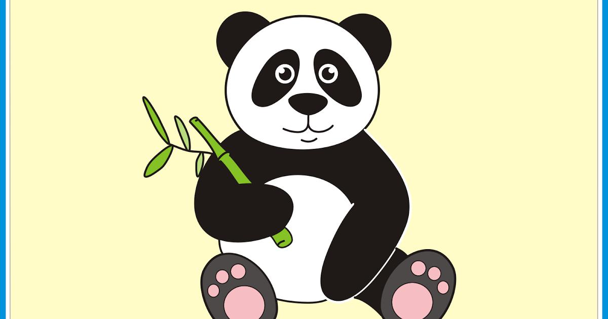 Contoh Gambar Ilustrasi Panda Mewarnai Gambar Panda Lucu Clip Art Library Floral Vignette 19 Clipart Panda Free Clipart Image Kartun Vignette Ilustrasi Hewan