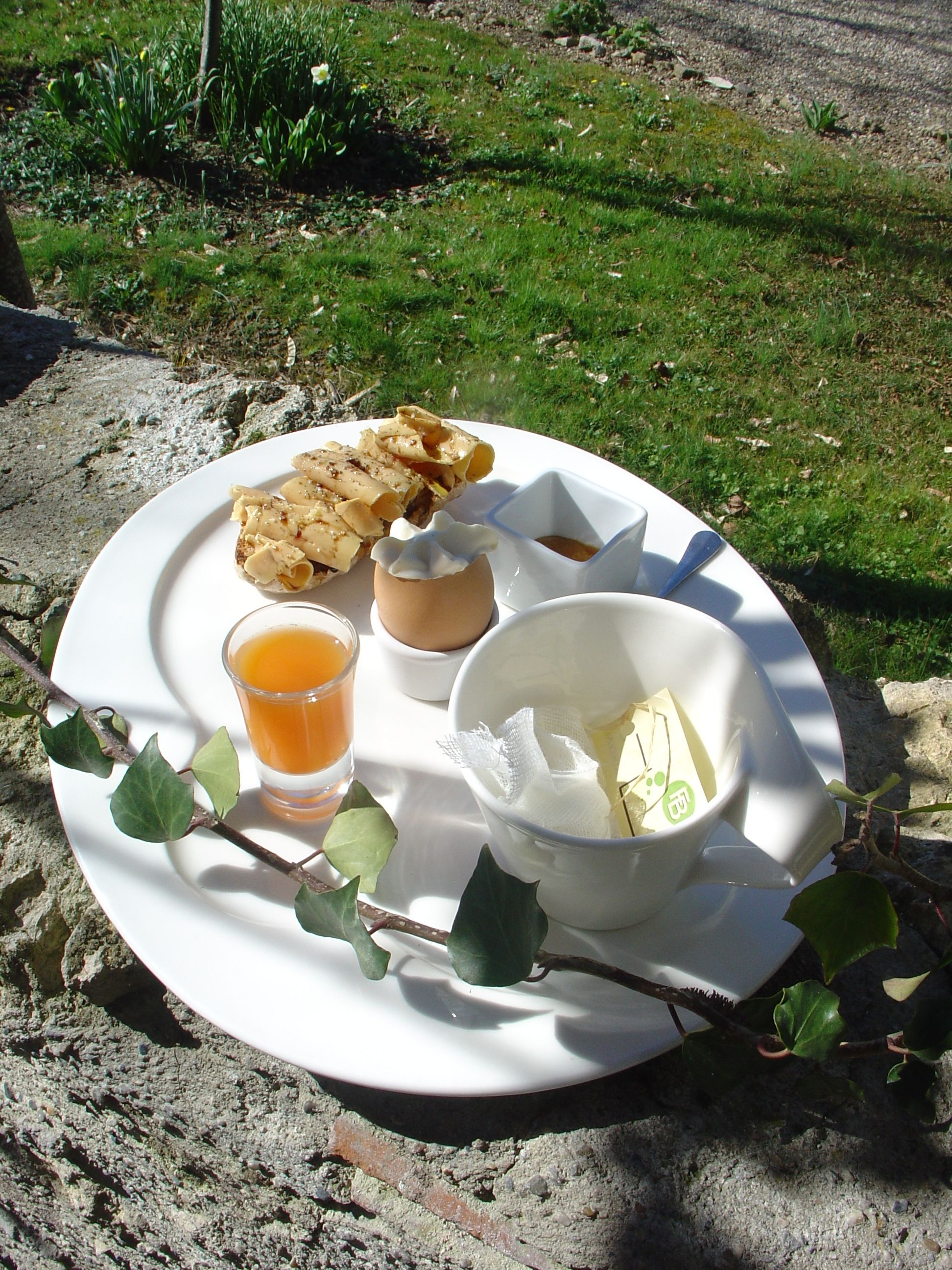 High energy Gascon breakfast