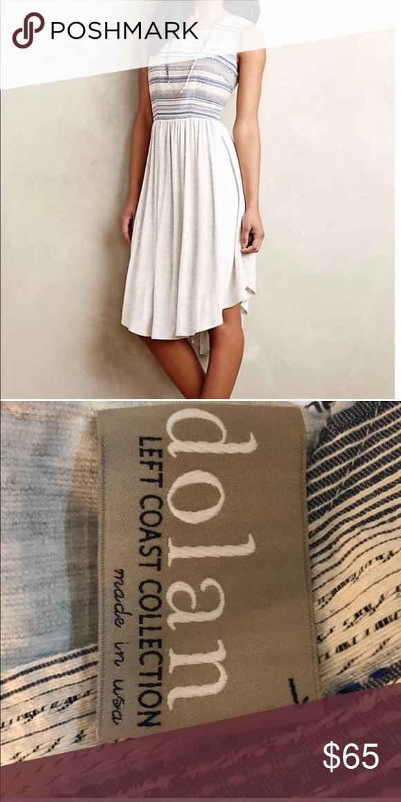 ea8ea0bc9bdf6 Anthropologie Dolan Sabado Dress Anthropologie Dolan Sabado Dress. By Dolan  Left Coast Rayon-spandex knit; cotton, polyester, acrylic lining  Fit-and-flare ...