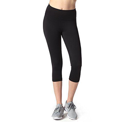 Lapasa Legging Capri Pantacourt de sport Femme Coupe Genoux Amincissant - Yoga  Fitness Jogging Gym 2de49f5dd64