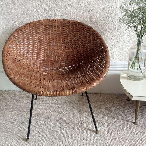 La Petite Brocante French Vintage Antique Furniture And Homeware Mobilier De Salon Fauteuil Rotin Meuble Vintage