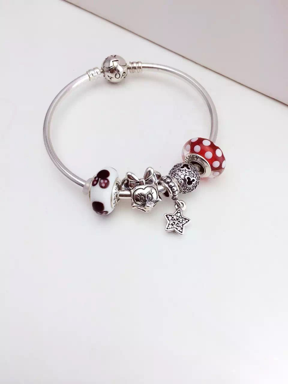 bracelet pandora disney minnie
