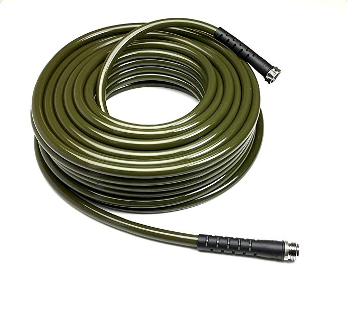 Amazon Com Water Right 500 Series High Flow Garden Hose Lead Free Drinking Water Safe 100 Foot X 1 2 Stainless Steel Fittings Brass Fittings Garden Hose