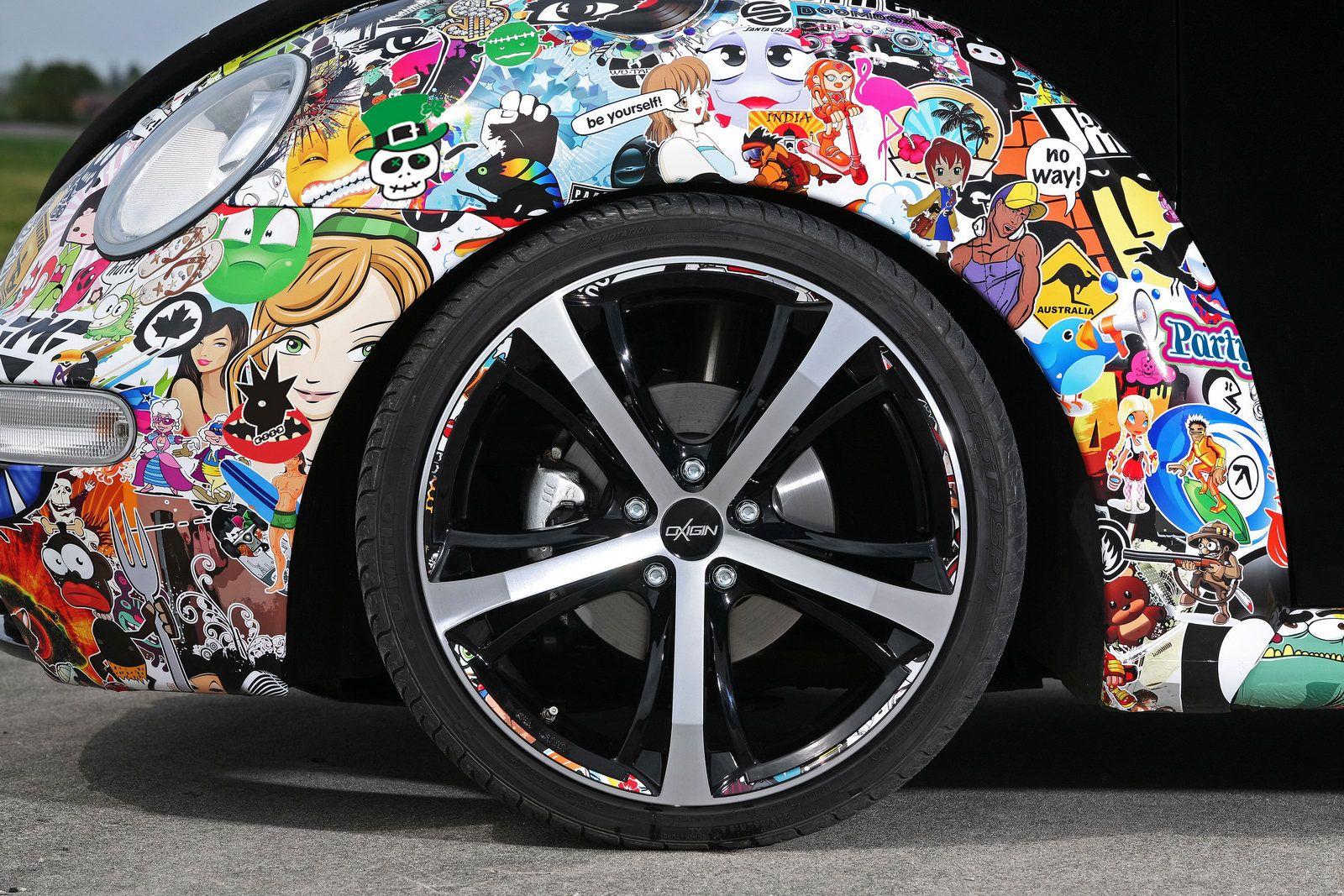 Audi r8 partial car wrapping sticker bomb stickerbomb by - Stickerbomb Folien Und G Nstige Car Wrapping 3d Klebefolieben Im Sticker Bomb Style Container Gardening Ideas Pinterest Sticker Bomb And Jdm