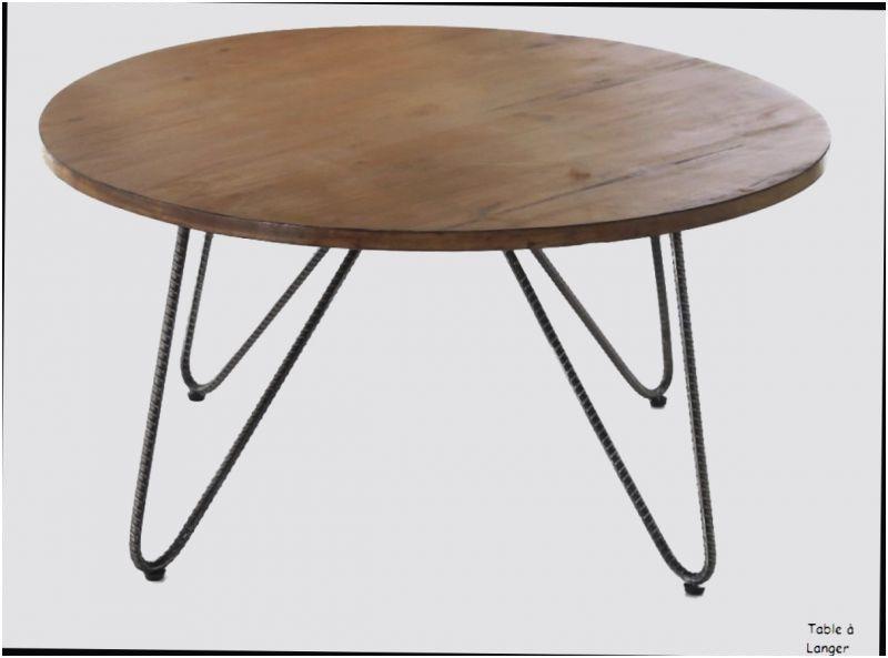 75 Biensûr Table Ronde Avec Rallonge Conforama Image 1000