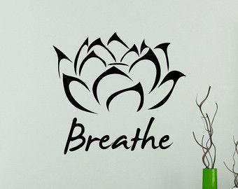 Symbol der Yoga Pose Vinyl Aufkleber Yoga von USAmadeproducts
