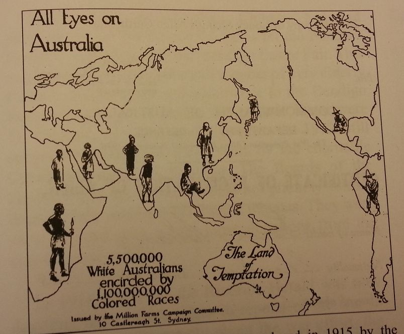 001 Pin on White Australia Policy and Racial Segregation