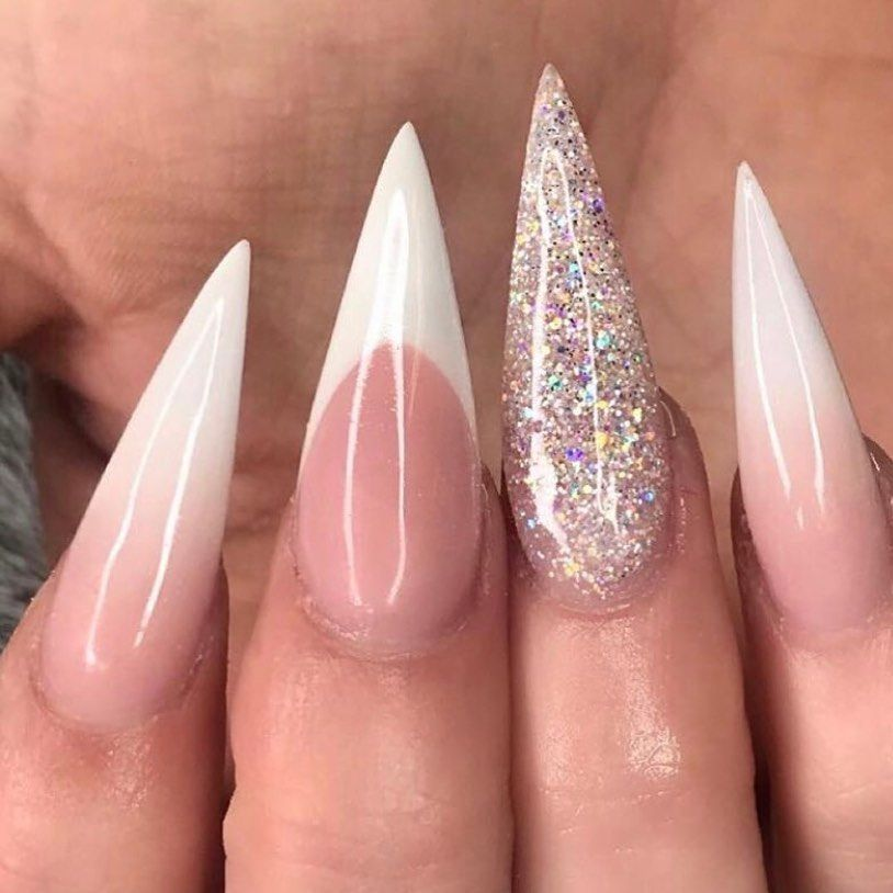 Ombre Glitter Young Nails Nails Young Nails Gel Nail Designs