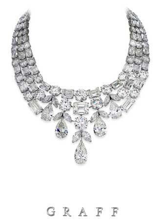 f01bd22e37534 Graff Diamond necklace featuring 275 carats of white diamonds ...