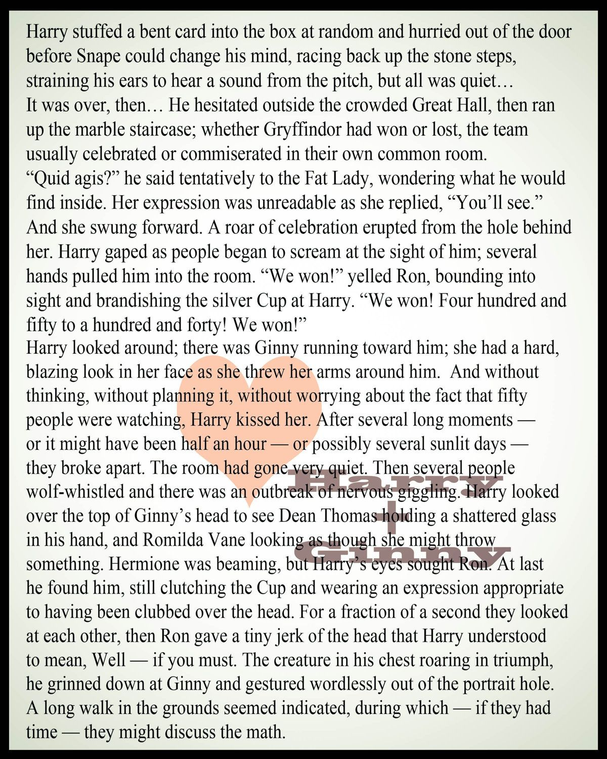 Harry Potter Book Monologues : One of my favorite passages in all the books first