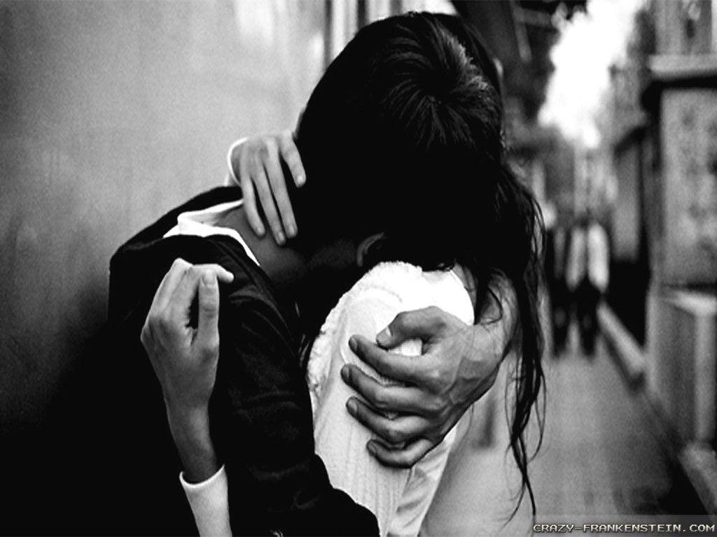 sweet romantic love hugging