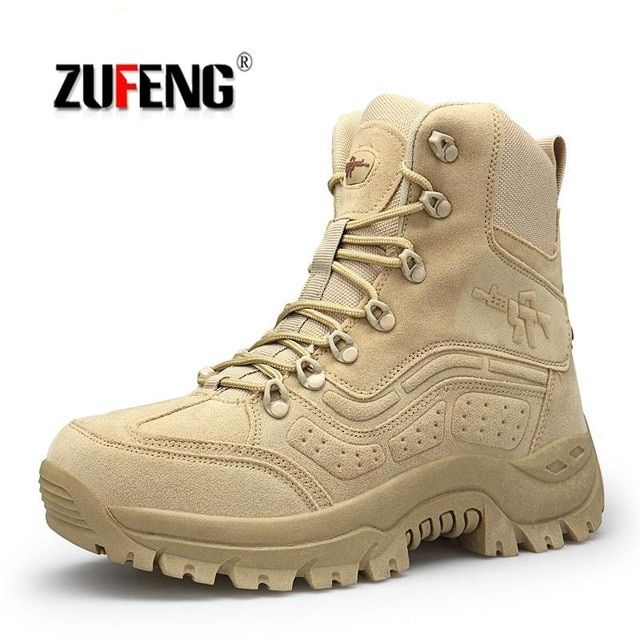 72d94cc3294 High-quality Hiking Shoes Men Special Forces Tactical Combat Army ...