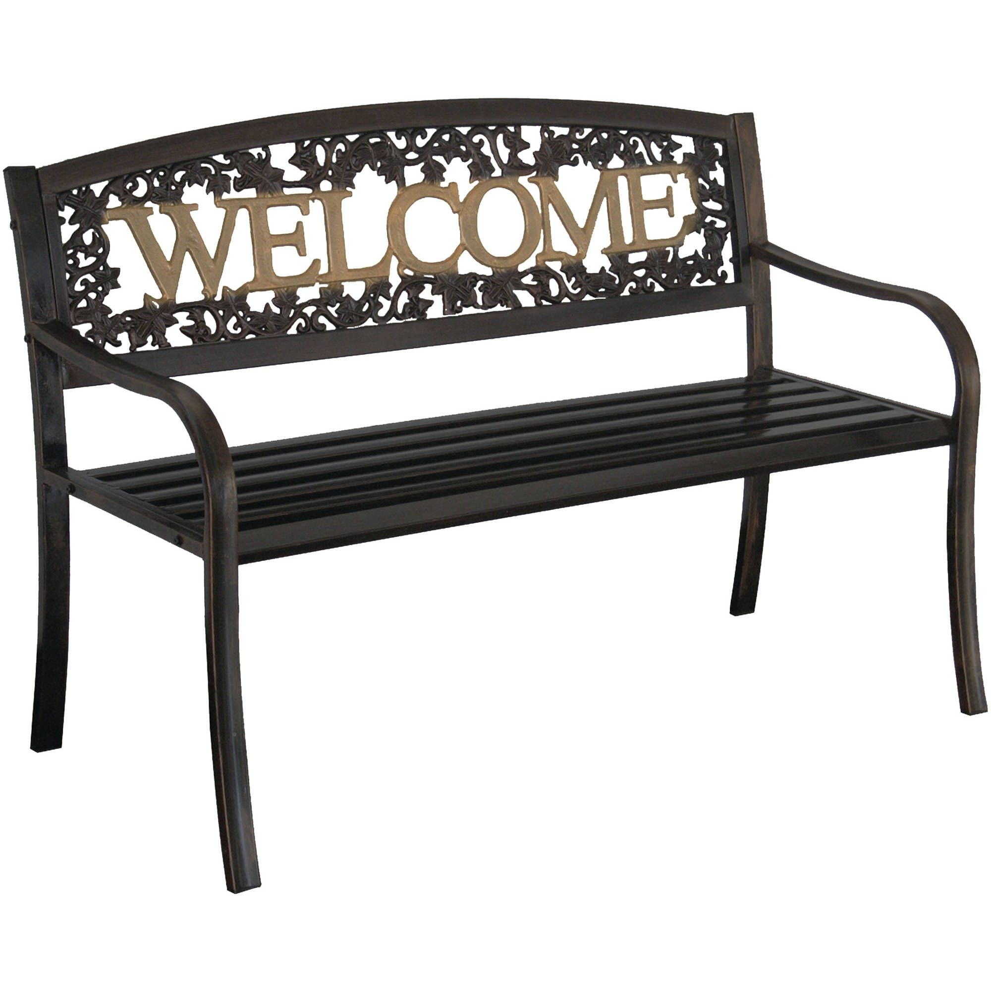 The leigh country welcome bench gives your home a warm and inviting feeling elegantly designed it comes in black with a unique
