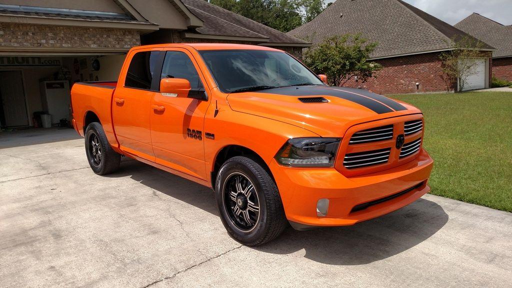 My New Ignition Orange Ram Page 2 Dodge Ram Forum Dodge Truck Forums Dodge Trucks American Muscle Cars Dodge Dodge Trucks Ram