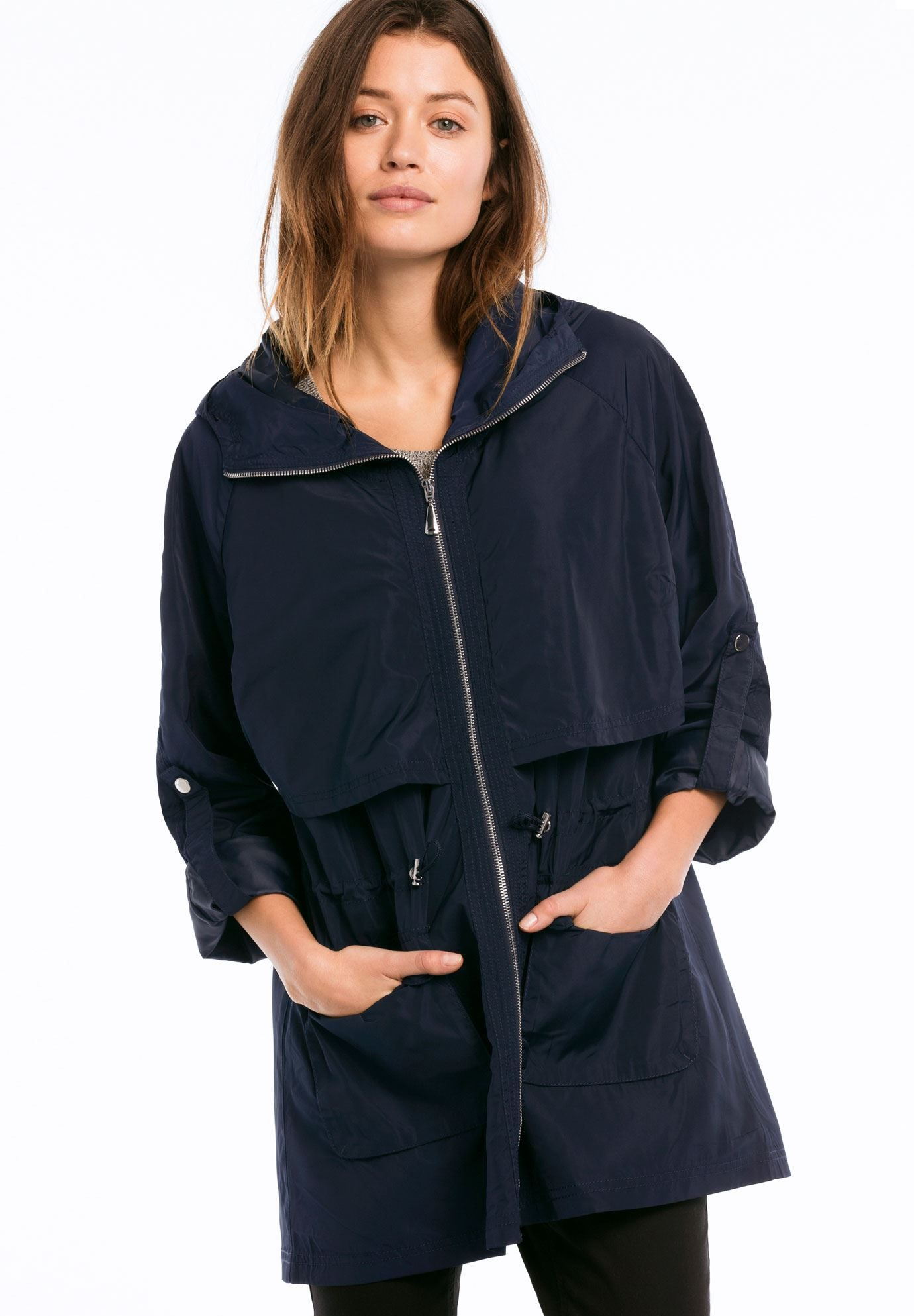 plus size zip anorak rain jacket | clothes | pinterest | rain