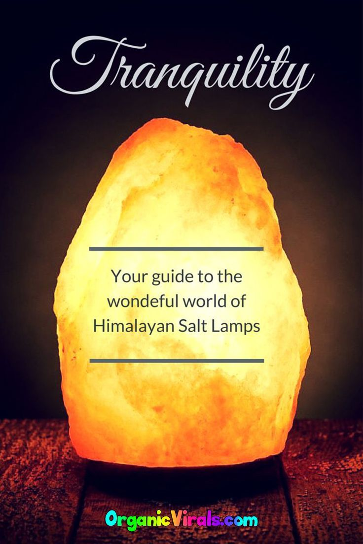 Salt Lamp Snopes Enchanting How Salt Lamps Improve Mental Clarity Air Quality And Sleep Cycles Decorating Inspiration