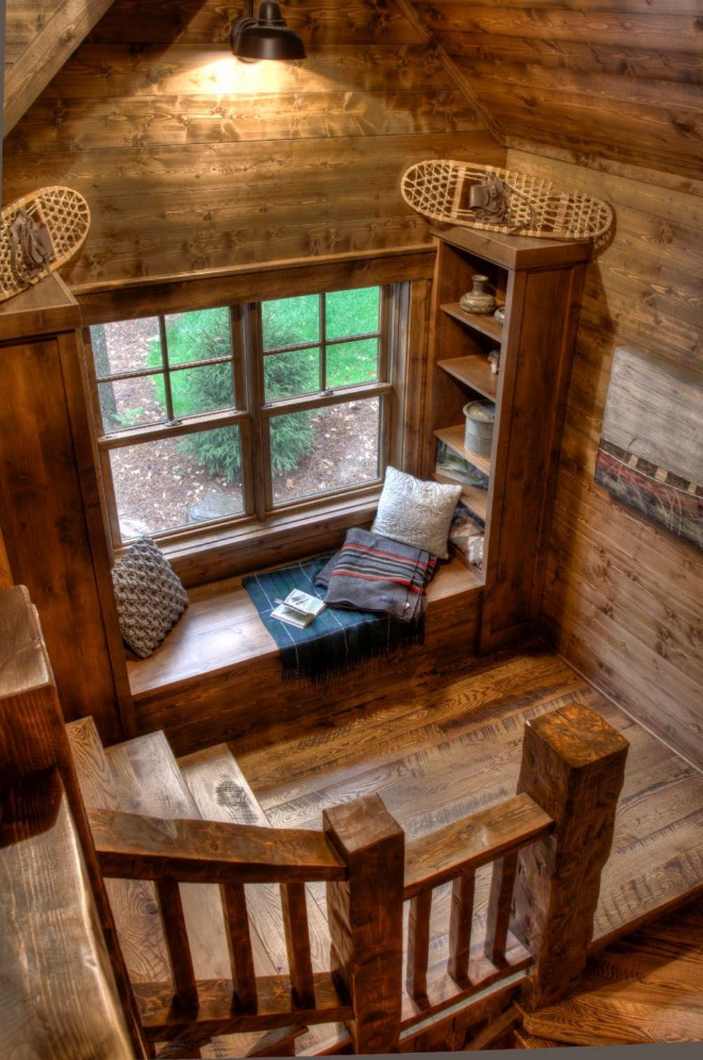 20+ Coziest Rustic Reading Nook Ideas For Winter H