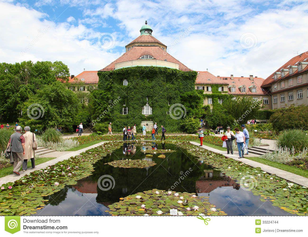 Munich Botaniacal Garden in Nymphenburg