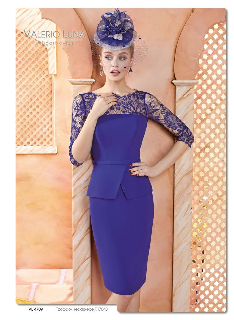 Dorable Vestidos Azules Para Invitados A La Boda Ideas Ornamento ...