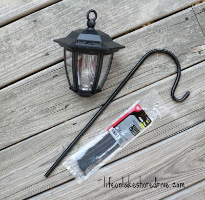 Diy solar light lamp post with flower planter hampton bay solar diy solar light lamp post with flower planter hampton bay solar lights mozeypictures Gallery