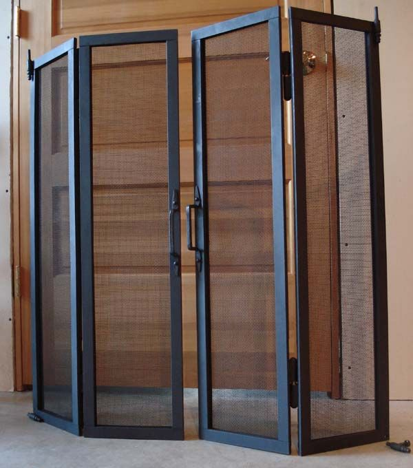 The Rumford Store Folding Glass Screen Hd Screensroom