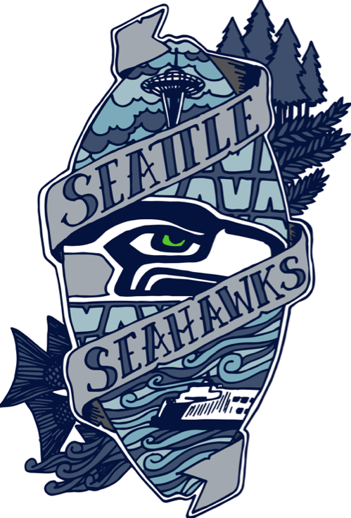 14f739686 Seahawks shirt by  Scott Erickson!