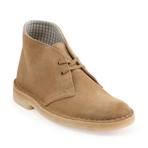 Womens Desert Boot Core Oakwood Suede - Women's Medium Width - Medium Shoes  - Clarks